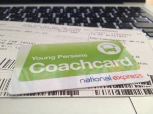 بطاقة خصم ناشونال اكسبرس National express coach card for young persons