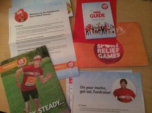 مشاركتي في ماراثون ساينسبري الخيري Sport Relief Games 2014