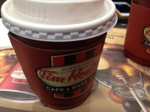 مراجعة: مقهى تيم هورتن في ازدان مول