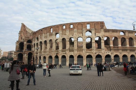 """رحلتي إلى """"الكولسيوم"""" في """"روما"""""""